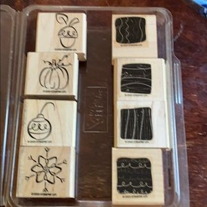 "2003 Stampin' Up! ""Little Layers II"" 8-piece set"